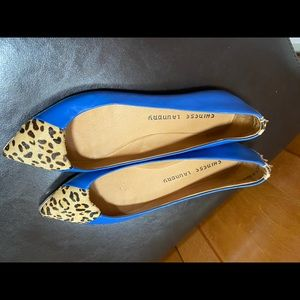 Chinese Laundry blue flats size 7,5